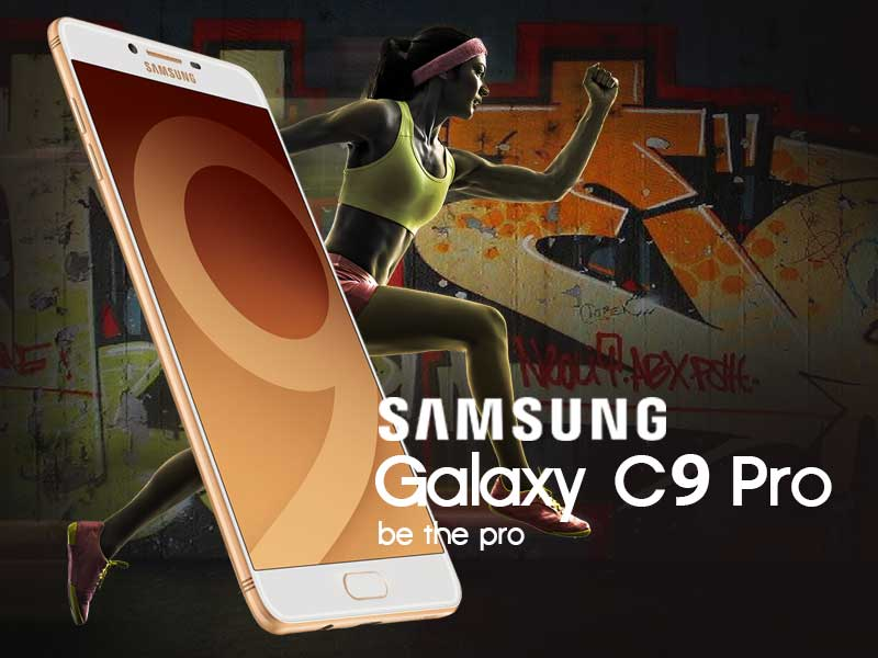 Menjadi Profesional Dengan Samsung Galaxy C9 Pro