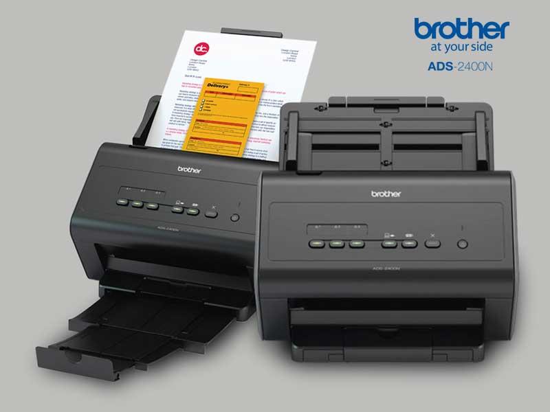 Brother Ads 2400n, Scanner Bagus Untuk Bisnis & Industri