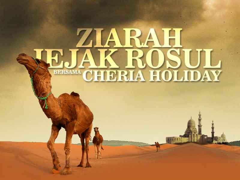 Tour Jejak Rosul Ke Masjidil Aqso, Jordan & Mesir Bersama Cheria Holiday