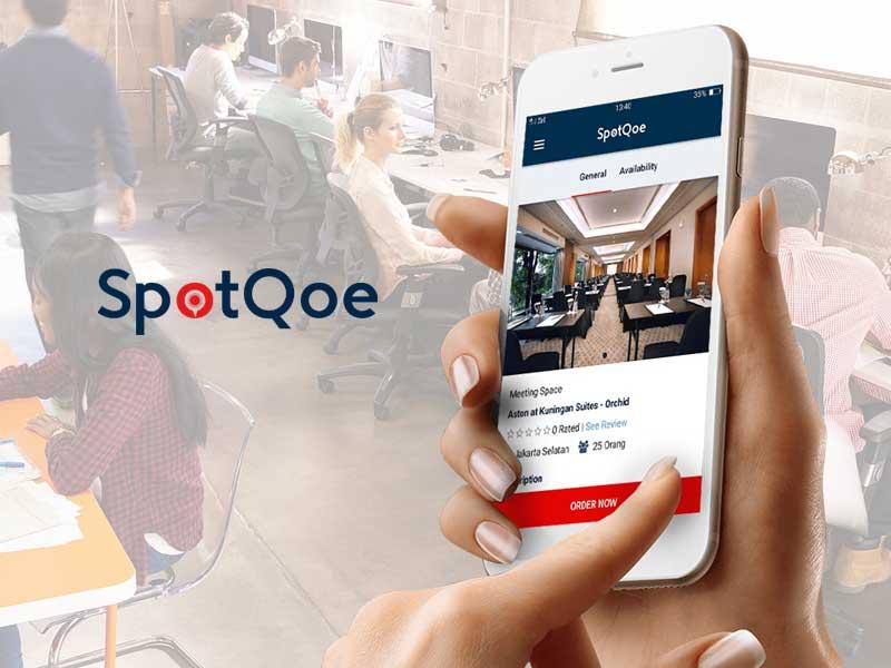 Spotqoe, Cara Mudah Dan Cepat Sewa Ruang Kerja, Event Dan Meeting Se-indonesia