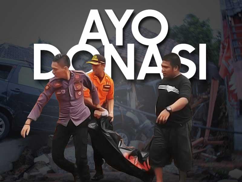 Mau Donasi Untuk Bencana Tsunami Selat Sunda, Begini Caranya !